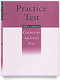 Cognitive Abilities Test Levels A-H