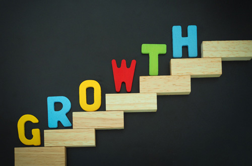 Steps of growth