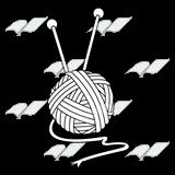 abeka clip art yarn ball with knitting needles
