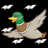 abeka clip art flying duck rh abeka com Duck Silhouette Clip Art Duck Commander Clip Art