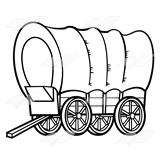 Wagon Wheels Free Coloring Pages