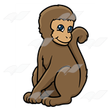 Brown Monkey