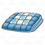 Abeka Clip Art Blue Quilt