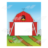 Open Red Barn
