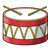 Drum Color PNG