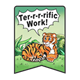 Terrific Work jungle themed incentive award