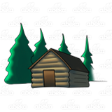 Cabin Clipart Png Pin Cottage Winter 5 G