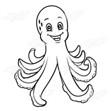 Grinning Octopus