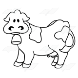 Cow Wearing Bell