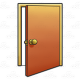 Open Door Clipart abeka | clip art | open door