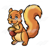 Tan Squirrel