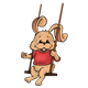 Swinging Bunny