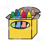 Open Crayon Box