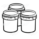 Three Paint Jars