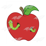 Worm in Apple