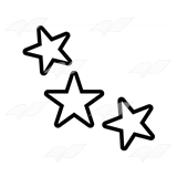 Three Yellow Stars