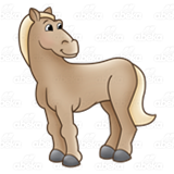 Light Brown Horse