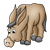 Brown Donkey Color PNG