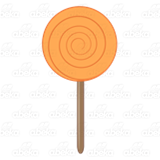 Orange Lollipop