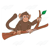 Monkey on a Branch