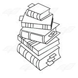 Gray Book Stack