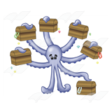 Octopus with Chests