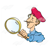 Magnifying Glass Man