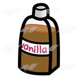 Brown Vanilla Bottle