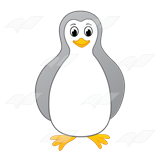 Gray Penguin