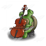 Turtle Making Music