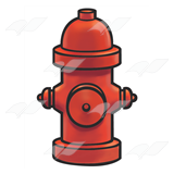Red Fire Hydrant 1
