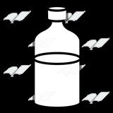 abeka clip art medicine bottle with red syrup rh abeka com Wine Bottle Black and White Clip Art medicine bottle clipart black and white