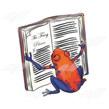 Frog Reading Story