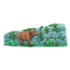 Ox Walking by a Wall smelling flowers