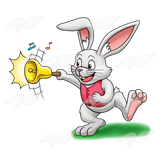 Rabbit with Bell