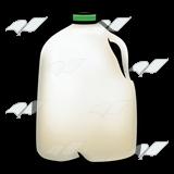 Abeka   Clip Art   Milk Jug—with green cap