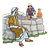 Abraham's Servant at Well Color PNG