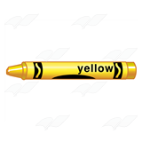 Crayon with Label