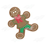 Decorated Gingerbread Boy