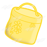 Round Yellow Lunchbox