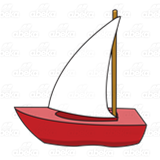 Red Sailboat