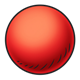 Big Red Rubber Ball