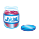 Jar of Jam with the lid off
