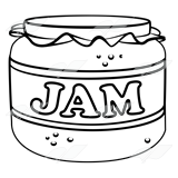 Jar of Red Jam