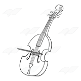 Bass with Bow