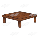 Low Wooden Table