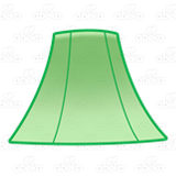 Green Lamp Shade