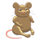 Chubby Brown Mouse