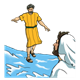 Walking on Water Jesus and Peter
