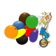Unicycle Clown with balloons
